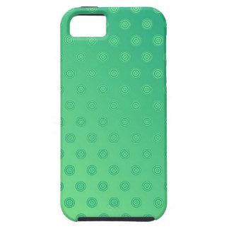 lunar verde del caso del iPhone 5 Funda Para iPhone 5 Tough