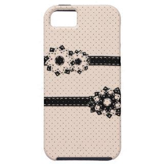 lunar y flores del caso del iPhone 5 iPhone 5 Carcasas