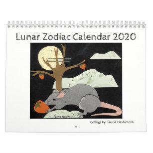 Lunar Zodiac Animals Calendar