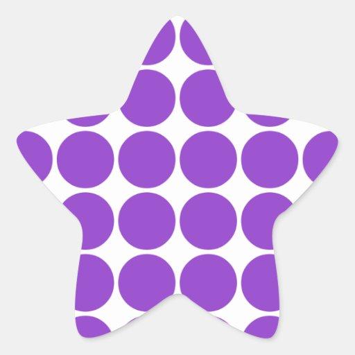 Lunares accesorios elegantes femeninos de la viole calcomanía forma de estrella personalizada