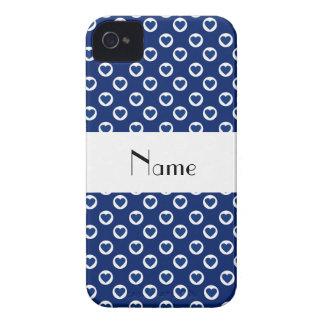 Lunares azules conocidos personalizados del iPhone 4 carcasa