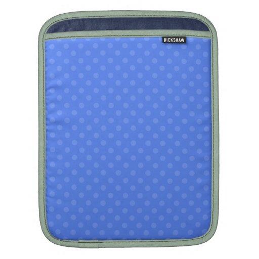Lunares azules manga de iPad