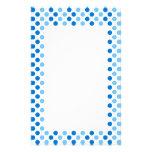 Lunares azules papelería personalizada