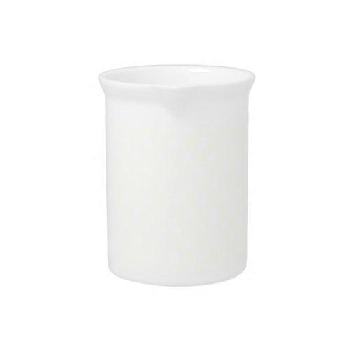 Lunares - blanco en beige jarra para bebida