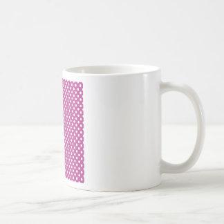 Lunares - blanco en fandango tazas
