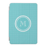 Lunares blancos del trullo femenino, su inicial cover de iPad mini