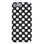 Lunares blancos negros - iPhone 6 Covercase