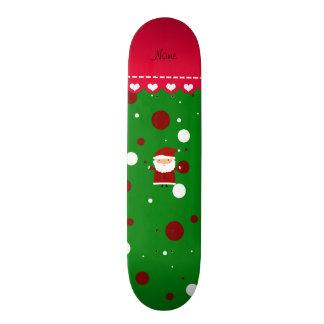 Lunares blancos rojos verdes conocidos skate boards