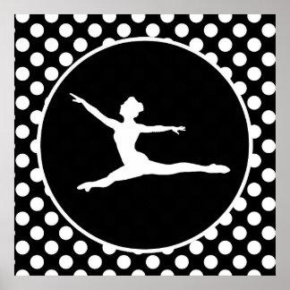 Lunares blancos y negros; Ballet Impresiones