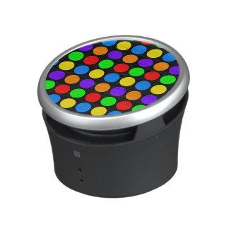 Lunares coloreados adaptables altavoz