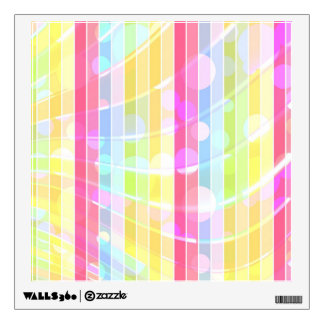 Lunares coloridos abstractos modernos de las rayas