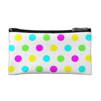Lunares coloridos - bolso cosmético