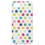 Lunares coloridos iPhone 5 Case-Mate carcasas