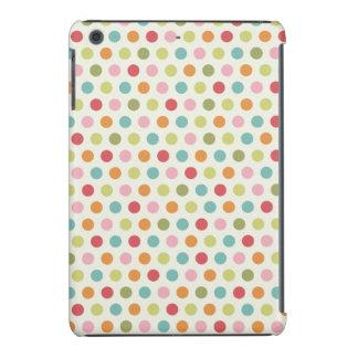 Lunares coloridos lindos fundas de iPad mini