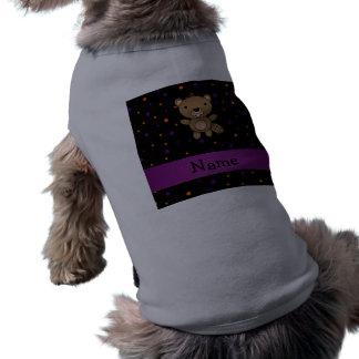 Lunares conocidos personalizados de Halloween del Camiseta De Mascota