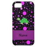 Lunares conocidos personalizados de la púrpura de  iPhone 5 Case-Mate carcasa