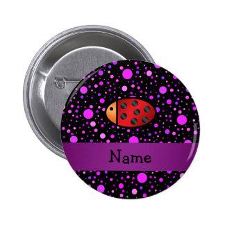 Lunares conocidos personalizados de la púrpura de  pin