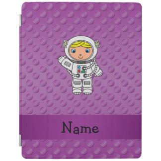 Lunares conocidos personalizados de la púrpura del cubierta de iPad