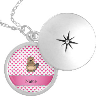 Lunares conocidos personalizados de los corazones medallón