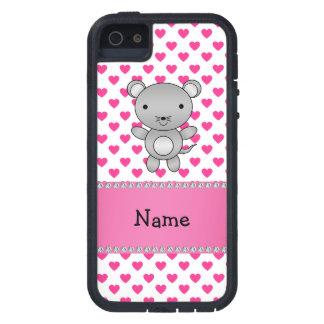Lunares conocidos personalizados de los corazones iPhone 5 cárcasa
