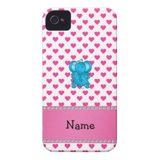 Lunares conocidos personalizados de los corazones Case-Mate iPhone 4 funda