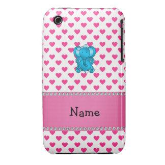 Lunares conocidos personalizados de los corazones iPhone 3 cobreturas