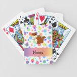 Lunares conocidos personalizados del arco iris del cartas de juego