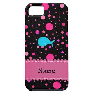 Lunares conocidos personalizados del rosa de la iPhone 5 funda