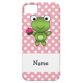 Lunares conocidos personalizados del rosa de la ma iPhone 5 Case-Mate carcasa