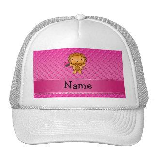 Lunares conocidos personalizados del rosa de la ma gorra