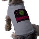 Lunares conocidos personalizados del rosa de la ra camisa de perrito