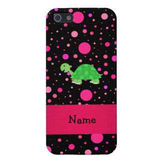 Lunares conocidos personalizados del rosa de la to iPhone 5 carcasa