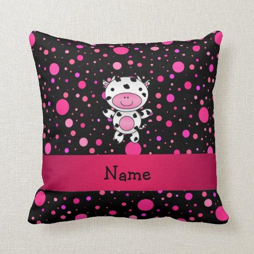 Lunares conocidos personalizados del rosa del almohada