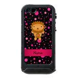 Lunares conocidos personalizados del rosa del funda para iPhone 5 incipio ATLAS ID