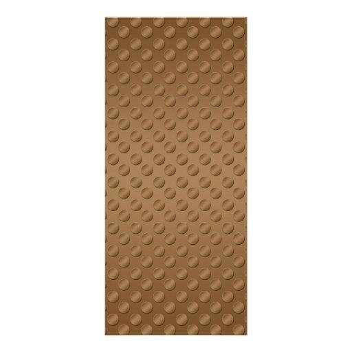 Lunares de Brown en fondo marrón Lonas Publicitarias