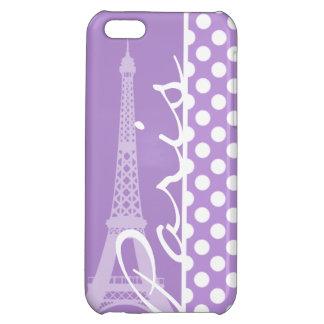 Lunares de la púrpura de la lavanda París