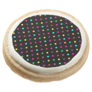 Lunares de las galletas de torta dulce