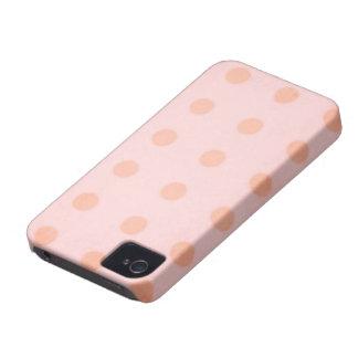 lunares de Rupydetequila del caso del iPhone 4-4s Carcasa Para iPhone 4