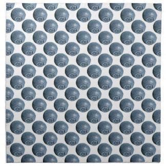 Lunares del arándano servilleta imprimida