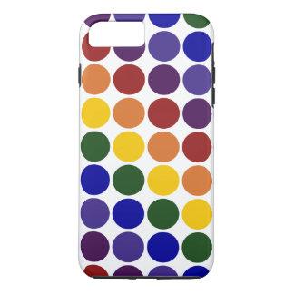 Lunares del arco iris en el caso más del iPhone 7 Funda iPhone 7 Plus