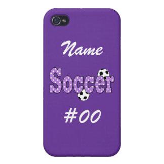 Lunares del fútbol iPhone 4/4S funda