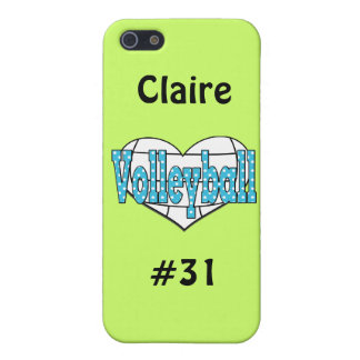 Lunares del voleibol iPhone 5 carcasa