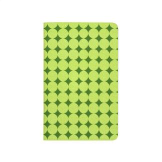 Lunares e ilusión Diamante-Óptica Cuaderno Grapado