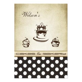 Lunares elegantes elegantes del vintage de la tort tarjetas de negocios