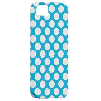 Lunares en azul iPhone 5 cobertura