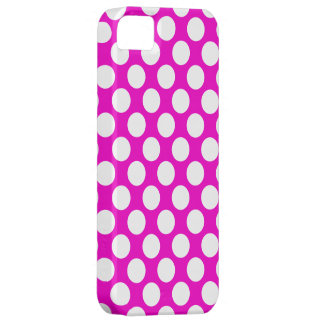 Lunares en rosa iPhone 5 cárcasa