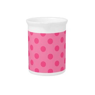 Lunares grandes - 6a rosado jarrón