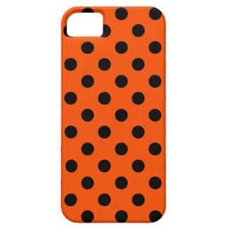 Lunares grandes - negro en el Tangelo iPhone 5 Case-Mate Protector