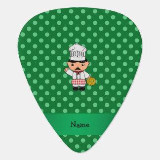 Lunares italianos conocidos personalizados del uñeta de guitarra