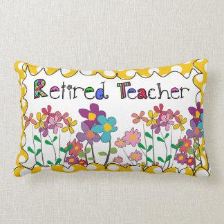 Lunares jubilados de la almohada del profesor flor